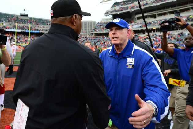 Does Eli Manning or Tom Coughlin Deserve Most Blame for Giants' Slump?