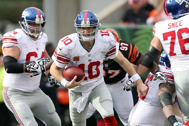 Eli Manning Doesn't Think He Has a Tired Arm