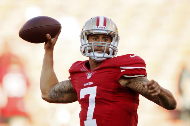 Colin Kaepernick in at QB After Alex Smith Takes Hard Hit
