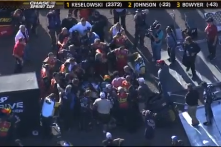 NASCAR Video: Fight Erupts After Jeff Gordon Initiates Wreck with Clint Bowyer