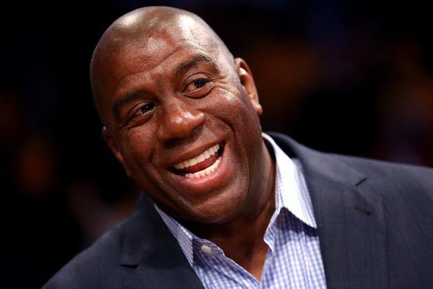Magic Johnson Excited Phil Jackson Could Return