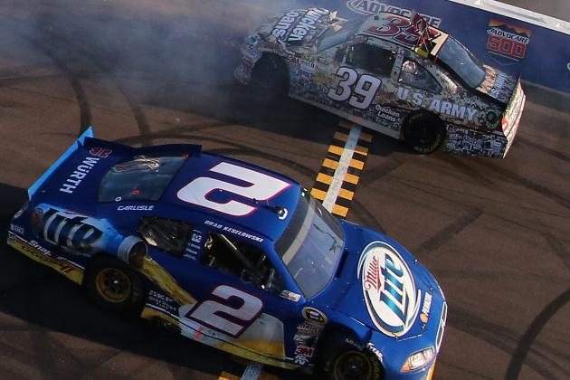 Keselowski Closes in on Cup Title After Wild Race