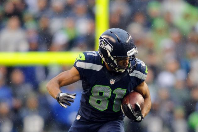 Sidney Rice on Tate's TD Pass: 'thought We Traded for Tebow for a Second'