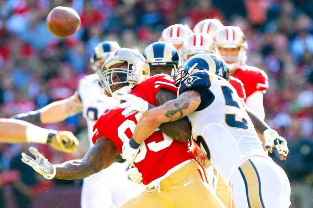 San Francisco 49ers vs. St. Louis Rams: Live Score, Highlights and Analysis