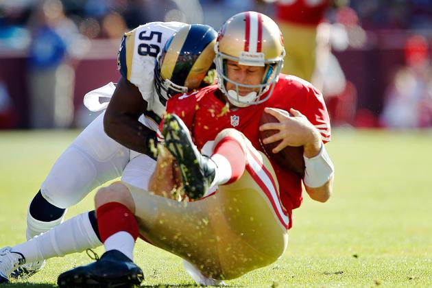 San Francisco 49ers and St. Louis Rams Ends 24-24 for First Tie Since 2008
