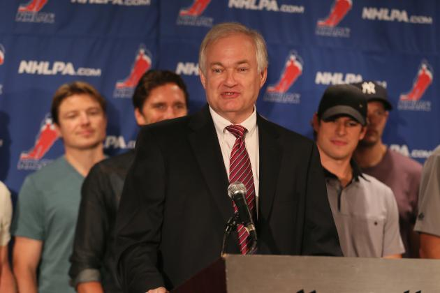 NHL Lockout: Donald Fehr and Bill Daly Not Optimistic After Sunday Talks