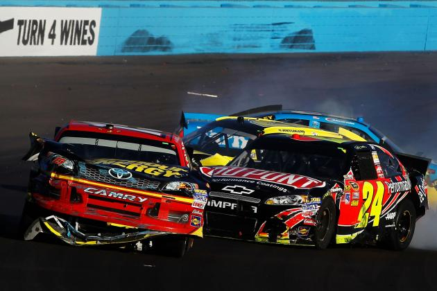 Why Jeff Gordon Was Wrong to Wreck Clint Bowyer at End of Race in Phoenix
