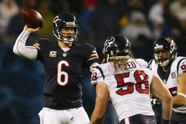 Jay Cutler out Due to Concussion, Jason Campbell in at QB
