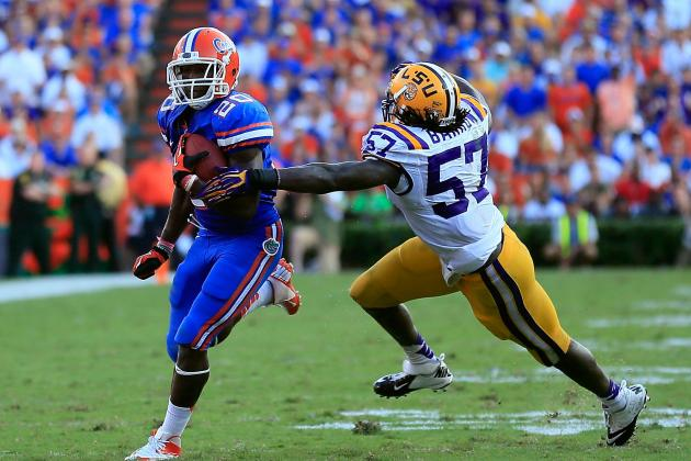 College Football Rankings 2012: Breaking Down Battles for BCS at-Large Berths