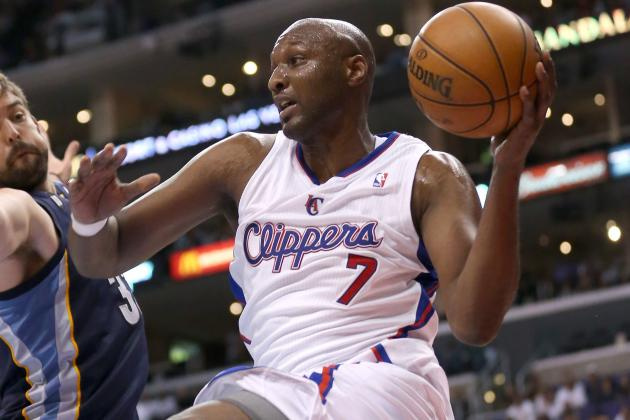 Lamar Odom's Contributions Are Still an Unknown to Clippers