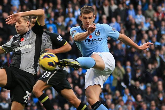 Manchester City: Edin Dzeko Should Savor Super-Sub/Superhero Status While He Can