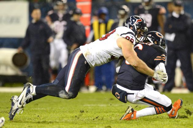 Texans vs. Bears: Jay Cutler Injured As Houston Wins Defensive Battle