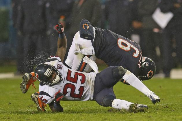 Texans vs Bears: Cutler Concussion Caps Poor Overall Effort by Offense in Loss