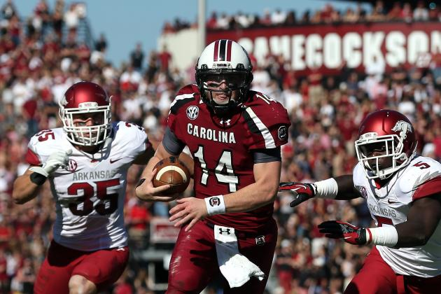 South Carolina Football: Connor Shaw Proves His Worth in Win over Arkansas