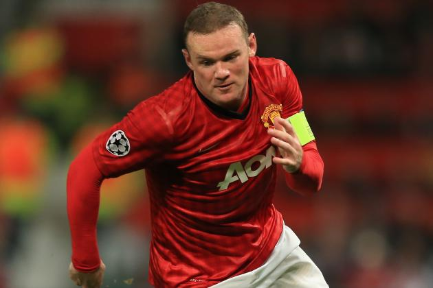 Manchester United Ace Wayne Rooney out of Friendly in Sweden