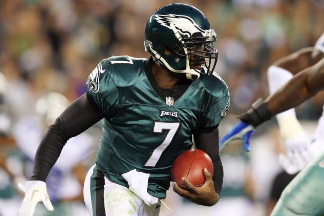 Michael Vick Concussion: Breaking Down Eagles' QB Situation Following Injury