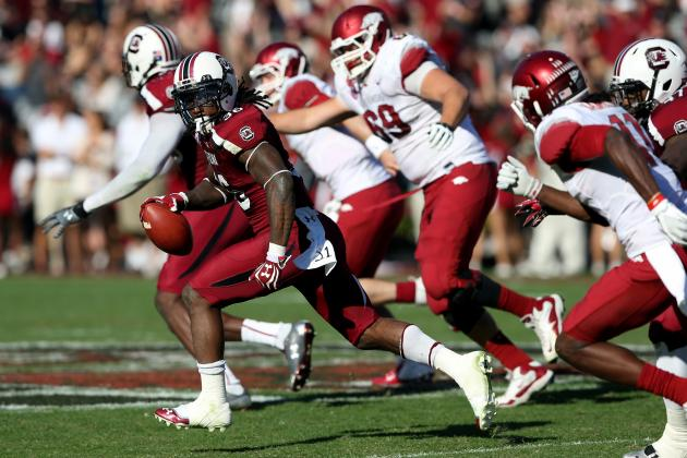 South Carolina Football: D.J. Swearinger Makes Big Plays but Draws Big Penalties