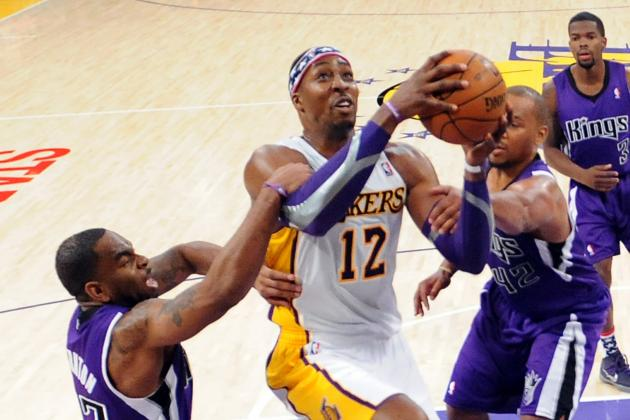 Dwight Howard of Lakers Wins NBA Player of the Night with Huge Outing vs. Kings