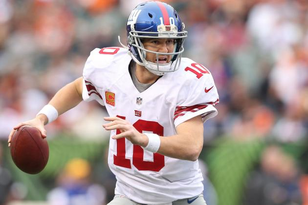Giants Quarterback Eli Manning Says He Is Not Suffering from a 'Tired Arm'