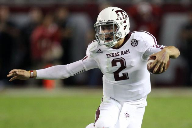 Johnny Football Manziel: Texas A&M QB Has No Chance of Winning Heisman Trophy