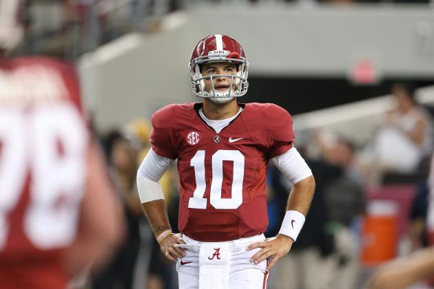 Alabama Football: A.J. McCarron Should Be Back for Senior Season