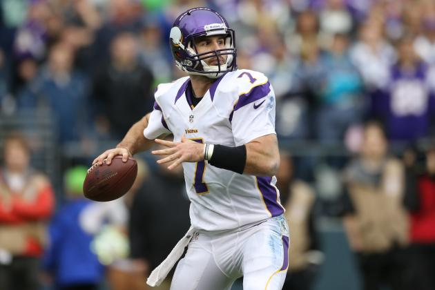 Christian Ponder Is Back, and All Is Forgiven
