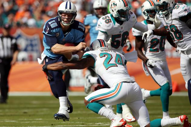 Titans vs. Dolphins Take 2: Jake Locker Adds a Spark for the Suprising Titans