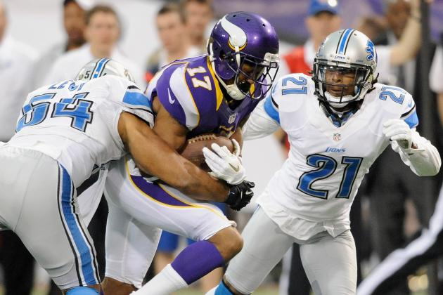 Jarius Wright Makes the Most of His First NFL Opportunity