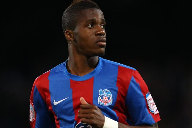 Zaha Earns First England Call-Up