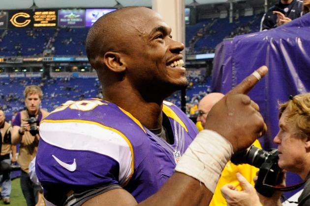Adrian Peterson Gets His Swagger Back with Season-High 171 Yards