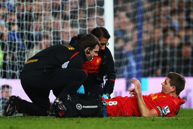 Liverpool Captain Steven Gerrard Set to Undergo Scan on Knee Injury