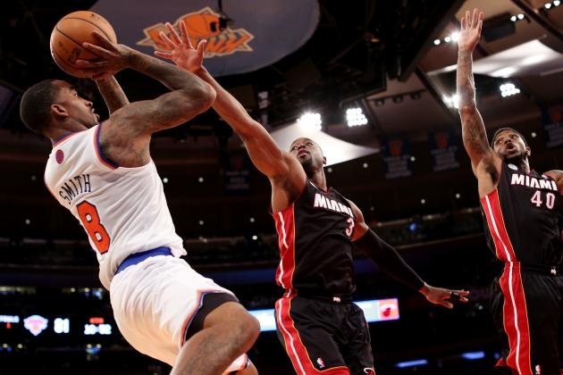 J.R. Smith Somewhat Surprised at Knicks' Fast Start