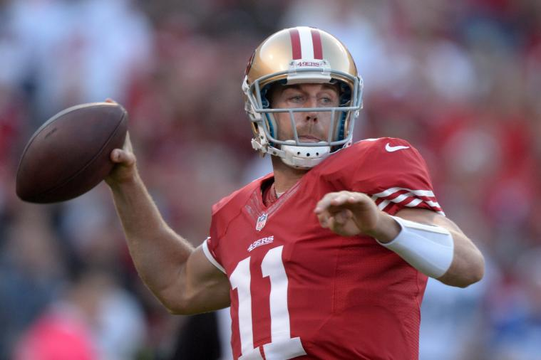 Alex Smith: Bitter Tie vs. Rams Proves How Vital Injured QB Is to 49ers' Success