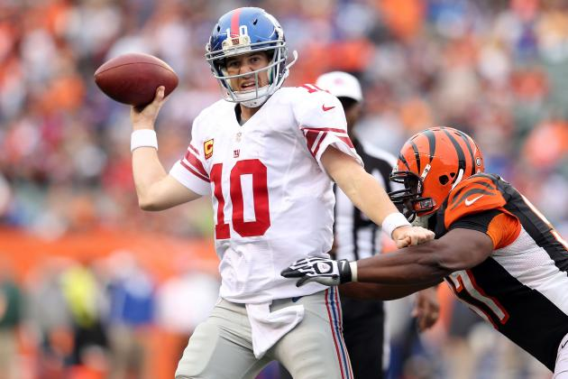 Eli Manning Says He Doesn't Have a Tired Arm, and More NFC East News