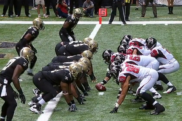 How the New Orleans Saints Executed Their Goal-Line Stand Against the Falcons