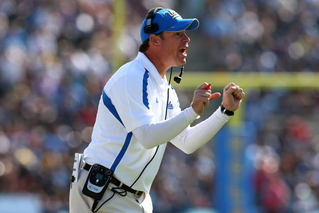 Heat Is on as UCLA Coach Jim Mora Prepares for His First USC Game