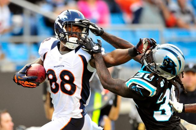 Demaryius Thomas: Broncos WR Will Be an Elite Fantasy Producer Rest of Season