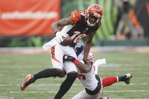 A.J. Green Finds Holes in Giants's D, but Says Comment Was Taken Out of Context