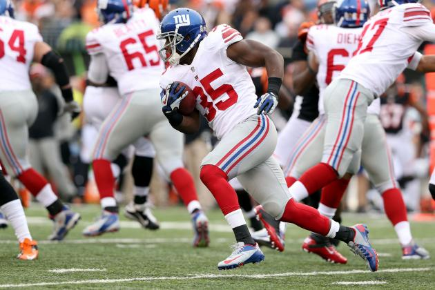 Andre Brown: Updated Fantasy Outlook & Analysis for Giants RB