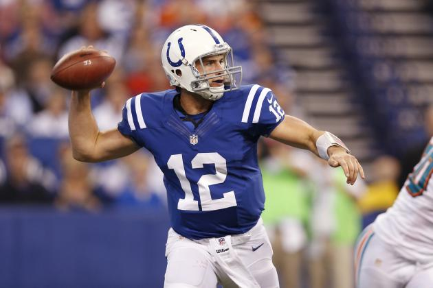 Andrew Luck: Colts QB Will Dominate Awful Patriots Pass Defense in Week 11