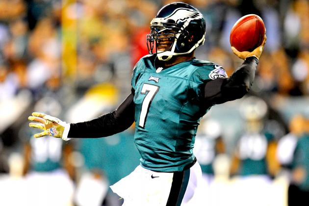 Will Michael Vick Regain Starting Job from Nick Foles After Concussion?