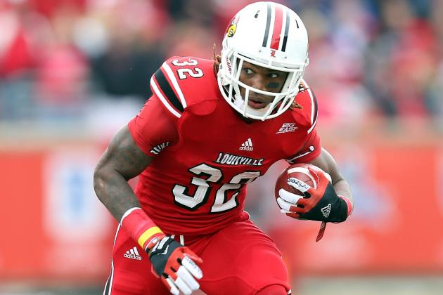 Louisville Running Back Senorise Perry out for the Season
