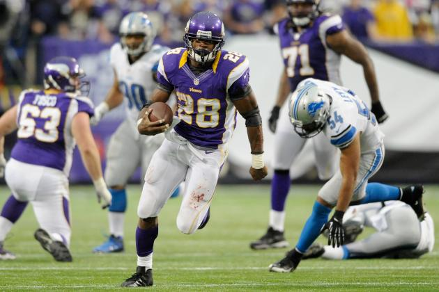 Fantasy Football: Adrian Peterson Leads the 'NFC Random Thoughts' from Week 10