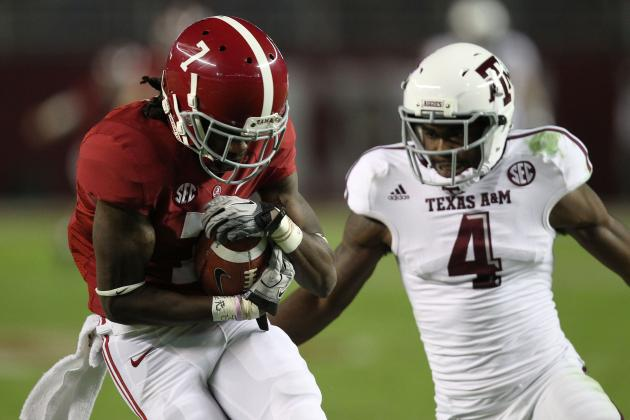 Some Offensive Figures Improve, but Most Alabama Numbers Dip After 1st Loss