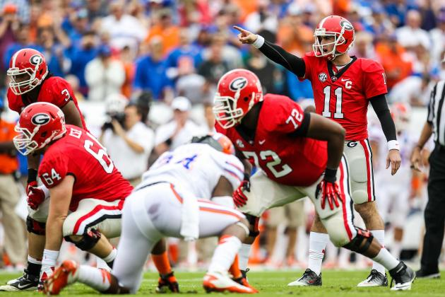 Georgia's Improving O-Line?
