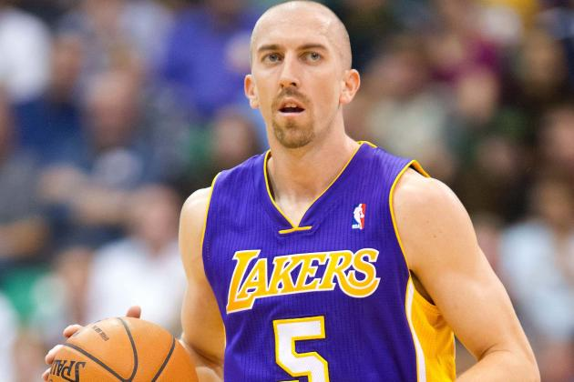 Steve Blake Has Abdominal Injury, to Be Reevaluated Tuesday