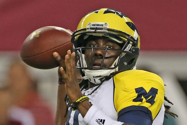 Michigan Football: Two Great Starts from Gardner Not Enough to Oust Denard