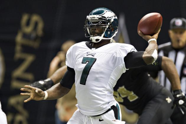 Michael Vick Injury: Potential Fantasy Replacements for Eagles QB in Week 11