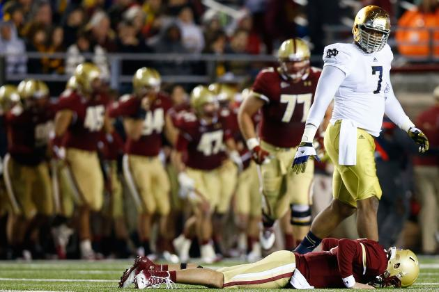 Notre Dame Football Analysis: A Few Issues in Progress for Irish