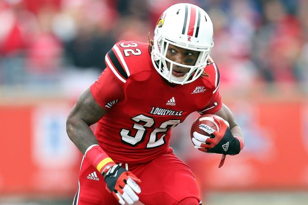 Louisville Leading Rusher Senorise Perry (ACL) Done for the Year